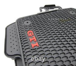 4x Original VW Monster Gti Tapis de Sol en Caoutchouc Nattes Kit Pour GOLF 7 VII
