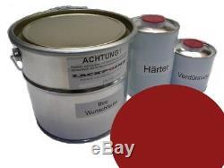 5 L Kit 2K Vw Rouge Paprika LK3A Peinture Golf 2 Mise au Point Couleur Gti G60
