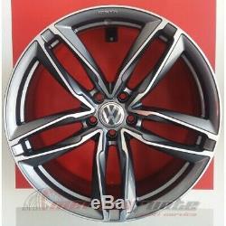 Atom/ad Kit4 Jante En Alliage Nad De 19 Et45 Volkswagen Golf 5 6 7 Gti Gtd Italy