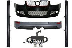 Body Kit pour VW Golf Mk 5 V Golf 5 03-07 Pare-chocs d'échappement GTI R32 Look