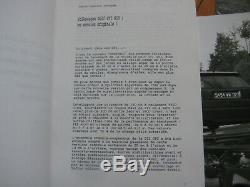 Brochure Prospekt Catalogue Presse Kit Dossier 1990 VW GOLF GTI G60 French