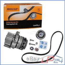 Contitech Kit De Distribution + Febi Pompe Eau Vw Golf 5 1k 2.0 + Gti