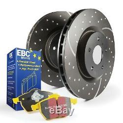 EBC Brakes S5KR1131 S5 Kits Yellowstuff et GD Rotors pour Golf R Gti Passat R32