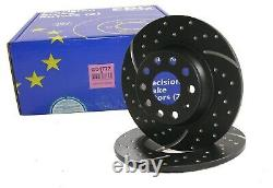 EBC Turbogroove Disques de Frein pour Skoda Rs VW Golf 7 Gti GD1772