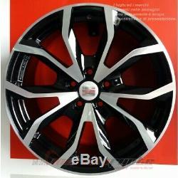 Esse1 Bd Kit 4 Jantes En Alliage Ece De 18 Et45 Pour Volkswagen Golf 5 6 Gti R