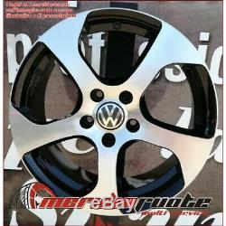 F164 Bd Kit 4 Jantes de 17 VW Golf 4 1J Gti R32 Fabriqué en Italie 5x100