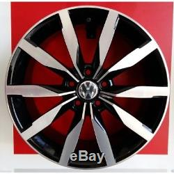 F893/bd Kit 4 Roues En Alliage 17 Pour Vw Golf 5 1k Gti R32 Ece Made In Italy