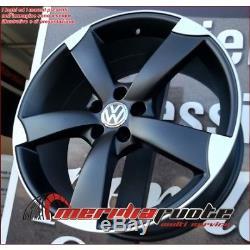 F931 Mbd Kit 4 Jantes En Alliage 8,5j 19 Et43 Volkswagen Golf 5 6 7 Gti Gtd