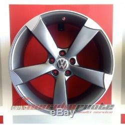 F931p/map Kit 4 Roues En Alliage 18 Et45 Volkswagen Golf 6 -gti Made In Italy