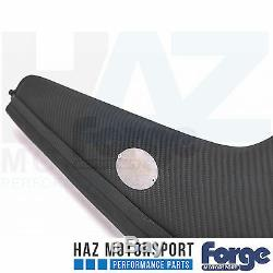 Forge Carbone Fibre Admission Kit Audi S3 8V VW Golf Mk7 R / Gti Bleu Tuyau