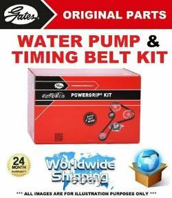 GATES Pompe à Eau + Kit Courroie Distribution pour VW Golf VI 2.0 Gti 2009-2012