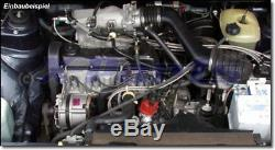 GOLF 1 GTI 1,8 DX Tuyau d'eau Noir Kit en tissu Circuit de refroidissement