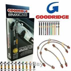 Goodridge Kit Durite Frein SVW0630-4C pour VW Golf MK7 Gti & R Modèles 2013