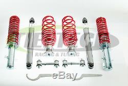 Hottuning Surcharge Kit Hauteur Réglable Suspension VW Golf Mk4 Gti + Liens