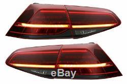 Kit Carrosserie Pour VW Golf 7.5 VII Facelift 17+ Pare-choc Grille Feux LED GTI