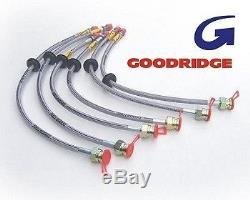 Kit Flexibles de Frein Goodridge Vw Golf 3 GTI / Vr6