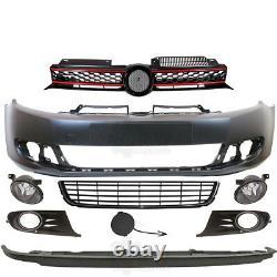 Kit Pare-Chocs+Brouillard+Accessoires Pour VW Golf 6 5K Année Fab. 08-12
