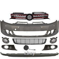 Kit Pare-Chocs+Brouillard+Accessoires Pour VW Golf VI 6 5K Année Fab