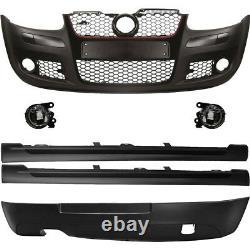 Kit Pare-Chocs Gti Optique+Accessoire+Brouillard Pour VW Golf 5 De V 1K