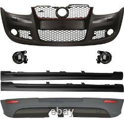 Kit Pare-Chocs Gti Optique+Accessoire+Brouillard pour VW Golf 5 V 1K