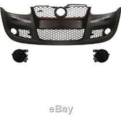 Kit Pare-Chocs avant Gti Optique+Équipement+Brouillard VW Golf