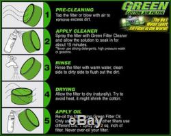 Kit air admission directe Green Volkswagen Golf 2 1,8L Gti G60 Syncro 160Cv