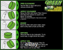 Kit air admission directe Speed R Diamond Green Volkswagen Golf 5 2,0L Gti Tu