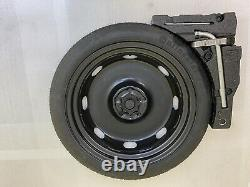 Kit complet Galette roue secoure 125/70R18 Vw Golf 7 GTI GTD Passat Audi A3 Neuf
