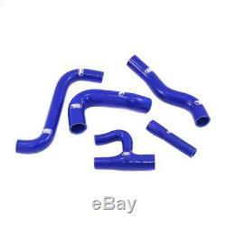Kit de 5 durites d'eau SAMCO bleu pour Golf 1 GTi Berline 1600 (EG)