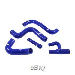 Kit de 5 durites d'eau SAMCO bleu pour Golf 1 GTi Berline 1800 (DX)
