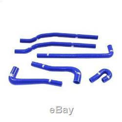 Kit de 6 durites d'eau annexes SAMCO bleu pour Golf 1 GTi Berline 1600 (EG) / 18