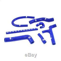 Kit de 7 durites d'eau SAMCO bleu pour Golf 2 GTi 16s
