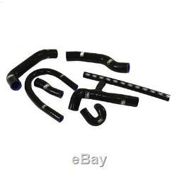 Kit de 7 durites d'eau SAMCO noir pour Golf 2 GTi 16s