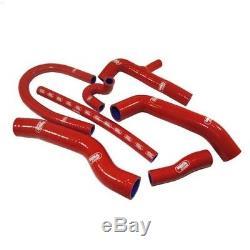 Kit de 7 durites d'eau SAMCO rouge pour Golf 2 GTi 16s