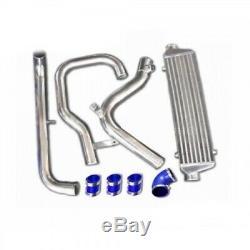 Kit echangeur aluminium frontal+durites rigides aluminium pour VW Golf 4 GTI