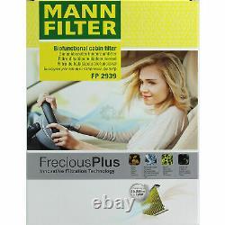 LIQUI MOLY 5L 5W-40 huile moteur + Mann-Filter filtre VW Golf VI 5K1 2.0 Gti