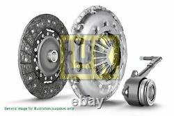 Luk Kit D'embrayage Pour Vw Golf V 2.0 Gti, Golf VI 2.0 R 4motion, Eos 2.0 Tfsi