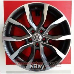 Mak Koln/ad Kit 4 Roues En Alliage 18 Pour Volkswagen Golf 7 R Gti Gtd (au)