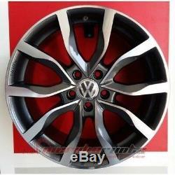 Mak Koln/ad Kit 4 Roues En Alliage 18 X Volkswagen Golf 6 (1k) Gti R 4motion
