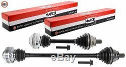Mapco Mince + Court Arbre de Transmission Gauche Droite Kit pour VW Golf 5/6 Gti