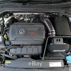 Noir RAMAIR Air Filtre Admission Kit Pour VW Golf mk7 2.0 TSI Gti Cbrm