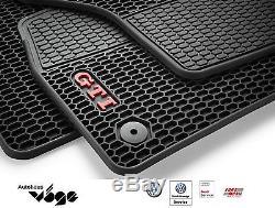 ORIGINAL VW GOLF VII GTI Tapis de voiture en caoutchouc Kit / avant et Arrière /