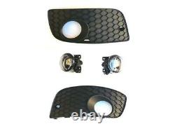 Phares Antibrouillard Grille de Ventilation Gauche Droite Kit VW Golf 5 V Gti
