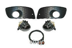 Pour VW GOLF 5 V Gti Original Kufatec Phares Antibrouillard+Grille+Câbles Kit