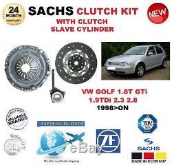 Pour VW Golf 1,8t Gti 1.9tdi 2.3 2.8 1998 Sachs Kit D'em Brayage Incl