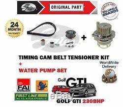Pour VW Golf 2.0 Gti Edition 30 2006-2008 Kit Courroie Distribution + Pompe à