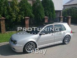 Pour VW Golf IV MK4 Complet Kit de Carrosserie Gti 25th Bumper Spoiler Jupe Côté