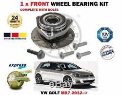 Pour VW Golf MK7+Gti R Tdi 4MOTION 2012- 1 X Kit Roulement Roue avant Complet