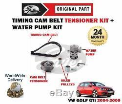 Pour Volkswagen VW Golf 2.0 Gti 16v 2004-2009 Kit Courroie Distribution &