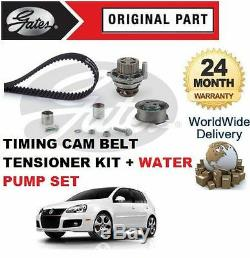 Pour Volkswagen VW Golf 2.0 Gti 2006-2008 Distribution Kit Tendeur Courroie +